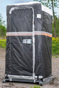 tarped unit